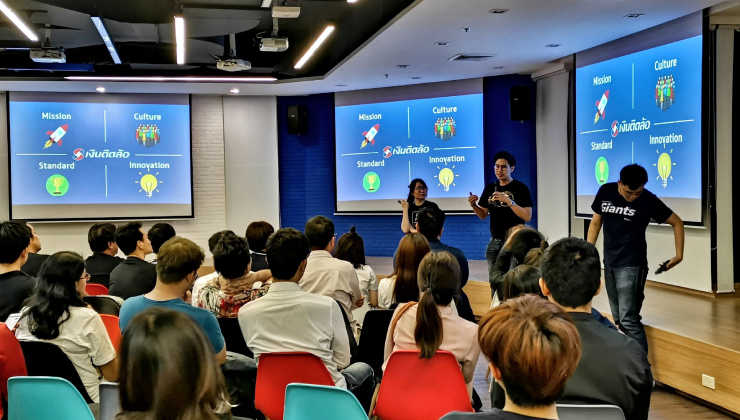 Ngern Tid Lor participates in the 20th Bangkok UX Meetup