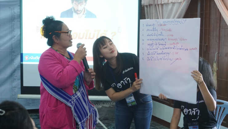 Ngern Tid Lor Organizes Financial Literacy Activity for Pang Mu Community